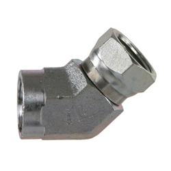1504 Npt To Npsm Elbow Pipe Swivel Fittings Hydraulics