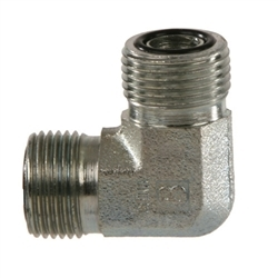 SS-FS2500 SAE O-Ring Face Seal ORFS Male 90° Elbow | Hydraulics Direct
