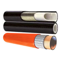Image of hydraulic hoses with layers exposed